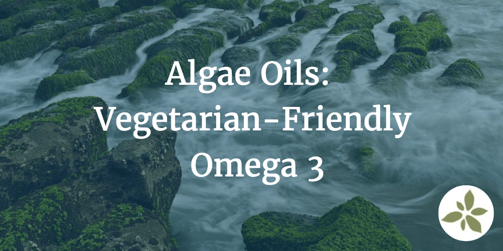 Algae Oils Vegetarian Friendly Omega 3